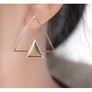 Triangle Örhängen